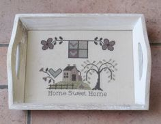 Toiles et fils: Home Sweet Home de C Mon Monde...