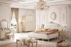 Cream French Bedroom