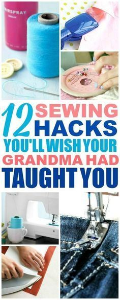 These easy sewing ha