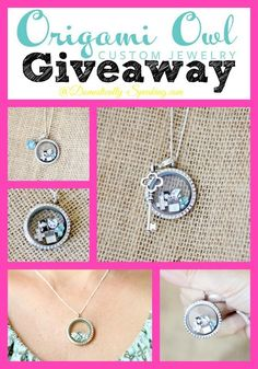 Origami Owl Jewelry Giveaway