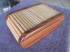 Tambour Lid Box - by Anthony @ LumberJocks.com ~ woodworking community