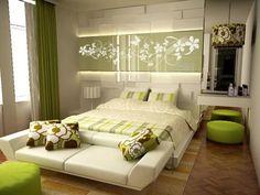 зеленая спальня интерьер - Поиск в Google