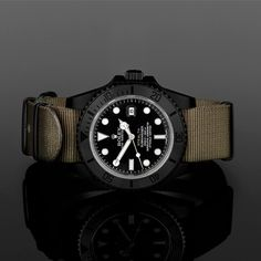 Limited to just 28 numbered examples per design, the S T E A L T H custom Rolex Submariner MK III and MK IV Editions, from Project X.
