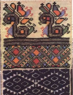 FolkCostume&Embroidery: Embroidery of Zastawna county, Cherniwtsi oblast, Bukovyna, Ukraine Folk Embroidery, Cross Stitch Embroidery, Embroidery Patterns, Textile Art, Types Of Shirts, Folk Art, Needlework, Bohemian Rug, Weaving