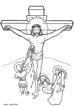 Luminous Mysteries coloring book pages | Catholic Coloring Pages ...