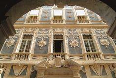"""Antichi """"Palazzi dei Rolli"""". Patrimonio Unesco. Genova #Italy"""