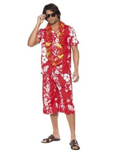 Mens Hawaiian Outfit - Party Superstores