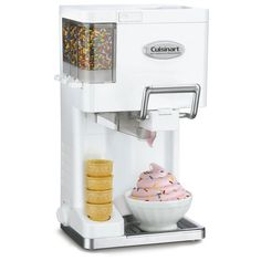 Soft Serve Ice Cream Maker by Cuisinart:  I must have this!