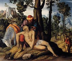 Who Was the Neighbor: The Priest, Levite, or Samaritan? Good Samaritan, Gospel Of Luke, The Neighbor, Fine Art Prints, Canvas Prints, Cool Business Cards, Canvas Paper, Old Master