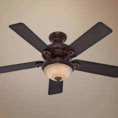 "52"" Hunter Vernazza Brushed Cocoa Ceiling Fan - #R7440 