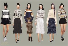 Sims 4 CC's - The Best: Clothing by Marigold