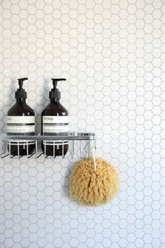 Design Files BODIE and FOU | bathroom with concrete floor