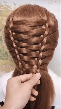 Easy Hairstyles For Long Hair, Braids For Long Hair, Girl Hairstyles, Ponytail Hairstyles, 10 Year Old Hairstyles, Running Hairstyles, Unique Braided Hairstyles, Renaissance Hairstyles, Medieval Hairstyles