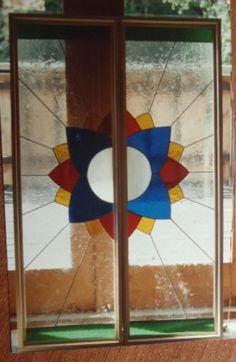 Bathroom Door Bathroom Doors, Stained Glass, Logos, Art, Craft Art, Stained Glass Windows, A Logo, Kunst, Gcse Art