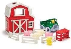 Amazon.com: Green Toys Farm Playset: Toys & Games