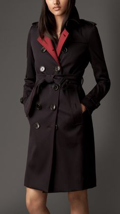 Contrast Detail Trench Coat with Warmer | Burberry