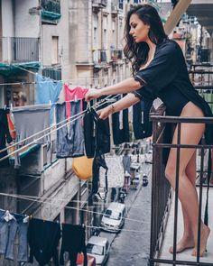 Il concetto di sharing pensano di averlo inventato altrove... Bucato profumato da @bebsantalfonsonapoli . . . . . . . .… Naples Italy, Female Feet, Sexy Poses, Italian Style, Long Tops, Huda Beauty, Boobs, Actresses, Model