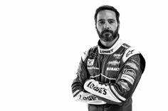 Jimmie Johnson Photos Photos - (EDITOR's NOTE: This image has been converted to black and white.) Monster Energy NASCAR Cup Series driver Jimmie Johnson poses for a photo during the NASCAR 2017 Media Tour at the Charlotte Convention Center on January 24, 2017 in Charlotte, North Carolina. - Monster Energy NASCAR Cup Series Portraits