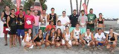 Ganadores del Torneo de Vóley Playa celebrado en Almuñécar