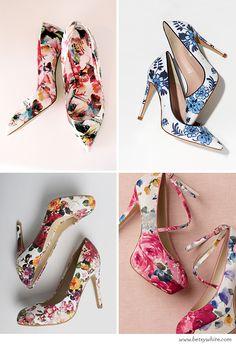 Head Over Floral Heels