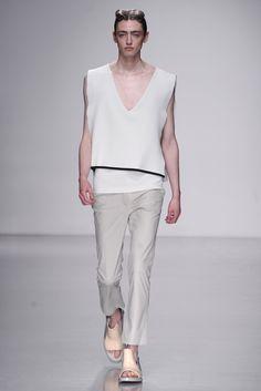 Kay Kwok Men's RTW Spring 2014 - Slideshow - Runway, Fashion Week, Reviews and Slideshows - WWD.com