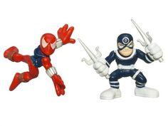 "Marvel Superhero Squad Series 13 Mini 3 Inch Figure 2-Pack ""Ben Reilly"" Spider-Man and Bullseye Marvel http://www.amazon.com/dp/B001XUBQYU/ref=cm_sw_r_pi_dp_skC2tb0Z5RTBNP99"