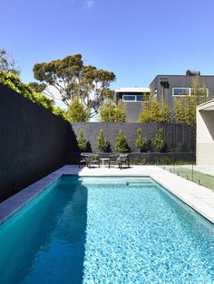 Home tour en vivienda de diseño en Brighton, Melbourne. #Hometour #Melbourne #Diseño #design #Canny #Piscina