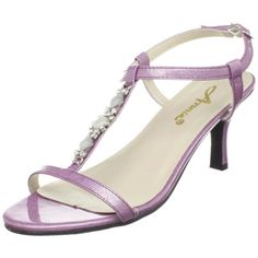 Annie Shoes Women's Bright T-Strap Sandal,Pink Marble Patent,8.5 W US #AnnieShoes #TStrap Also have in 7.5 W US