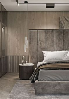 99 Rustic Master Bedroom Design Ideas – – Patterns and designs – just like in any other interior parts of the house, your master bedroom deserves having the best design and pattern. You hav… Bedroom Lamps Design, Rustic Master Bedroom Design, Design Living Room, Luxury Bedroom Design, Home Decor Bedroom, Bedroom Ideas, Bedroom Designs, Bedroom Lighting, Bedroom Furniture