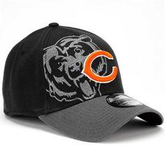 New Era Chicago Bears 39Thirty Classic Flex Hat - Black