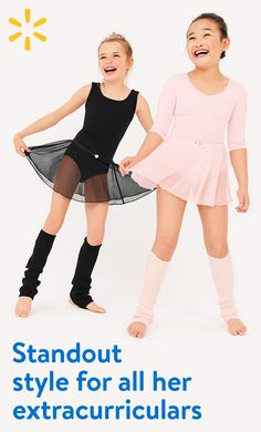 Make her ballerina dreams come true with dancewear from Walmart. Stock up on leotards, tutus and everything you need for back to school.