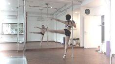 my Flexiart my pole dance