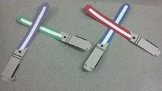 Light Saber door decs!  May the force be with you!