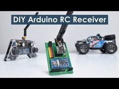 In this tutorial we will learn how to make an Arduino based RC receiver. Since building my DIY Arduino RC transmitter in one of my previous videos, I got. Arduino Radar, Nrf24l01 Arduino, Arduino Wireless, Arduino Motor, Arduino Programming, Arduino Sensors, Arduino Circuit, Electronic Circuit, Diy Electronics