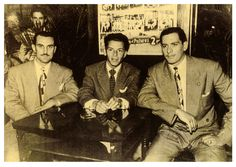 """Rocco & Joe Fischetti & Sinatra. Rocco Fischetti, also known as """"Rocky"""" and """"Ralph Fisher"""" (March 17, 1903 - July 5, 1964) was a Chicago mobster with the Chicago Outfit criminal organization who ran many illegal gambling operations. Fischetti also accompanied singer Frank Sinatra on two trips to Havana, Cuba."""