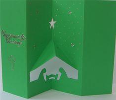 Folding Nativity Christmas