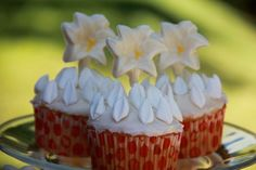 Catholic Cuisine: St. Maria Goretti's Flames of Forgiveness Cupcakes - July 6th is the feast day of my confirmation saint, so I'd love to make these to commemorate her feast day!