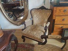 bécsi barokk antik fotel