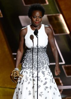 Viola Davis Becomes 1st Black Woman To Win Emmy For Lead Actress in Drama; Regina King and Uzo Aduba win Emmys for Supporting Roles