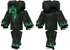 The Grim Creeper skin for Minecraft PE - http://minecraftpedownload.com/the-grim-creeper/