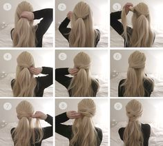 Tutorial, Two simple knot half up hair dos, perfect for the holidays 2015.
