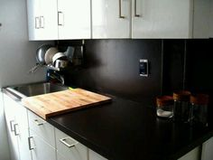 Tuesday's Tips: Paint laminate countertops for a cheap transformation   Design Indulgences