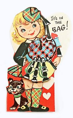 VIntage Valentine - It's in the Bag