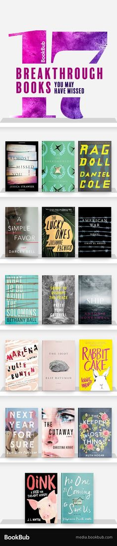 17 popular new books worth a read. Add these to your summer 2017 reading list. Including great books for women and for book club ideas.