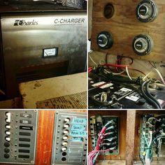 Started to reactivate the 32 volt systems for the first time since #hurricanematthew . Approaching it slowly and carefully.some of the 32 v wiring experienced excessive corrosion. For now we activated a 32v bilge pump and float switch just to simply have a pump on a redundant power source. #nauticinderella #chriscraft #woodyboater #boatlife http://ift.tt/1NlLhvg