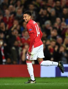 Lingard scored a decent goal.