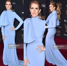 Céline Dion at the premiere of Beauty and The Beast 2017 #célinedion