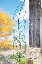 Decorative Leaf-shaped Garden Trellis Unique Yard Art (over 5-ft high) ~NEW~