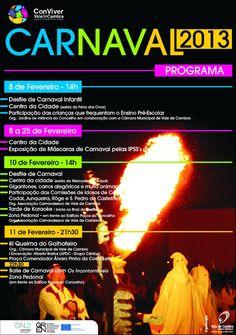 Carnaval 2013  > 8, 10 e 11 Fevereiro 2013  @ Vale de Cambra