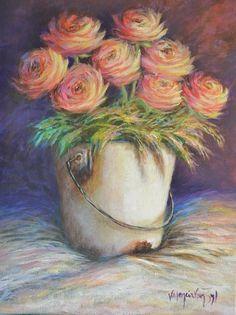 VALENCIA VAN ZYL Valencia, Flower Art, Vans, Fine Art, Drawings, Paintings, Flowers, Art, Sketches